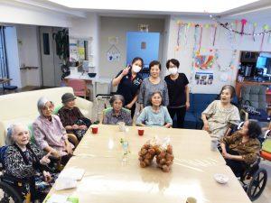 めぐみ小禄南1周年のお祝い